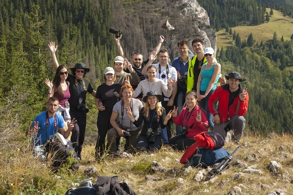 Photography workshop in Bicaz Gorge Romania – August 2014 Making of