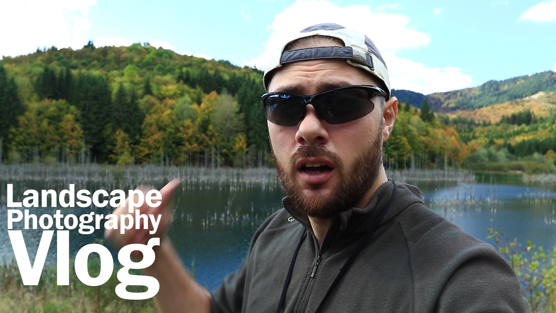 Landscape photography vlog – Going back to the lake for long exposures during the day