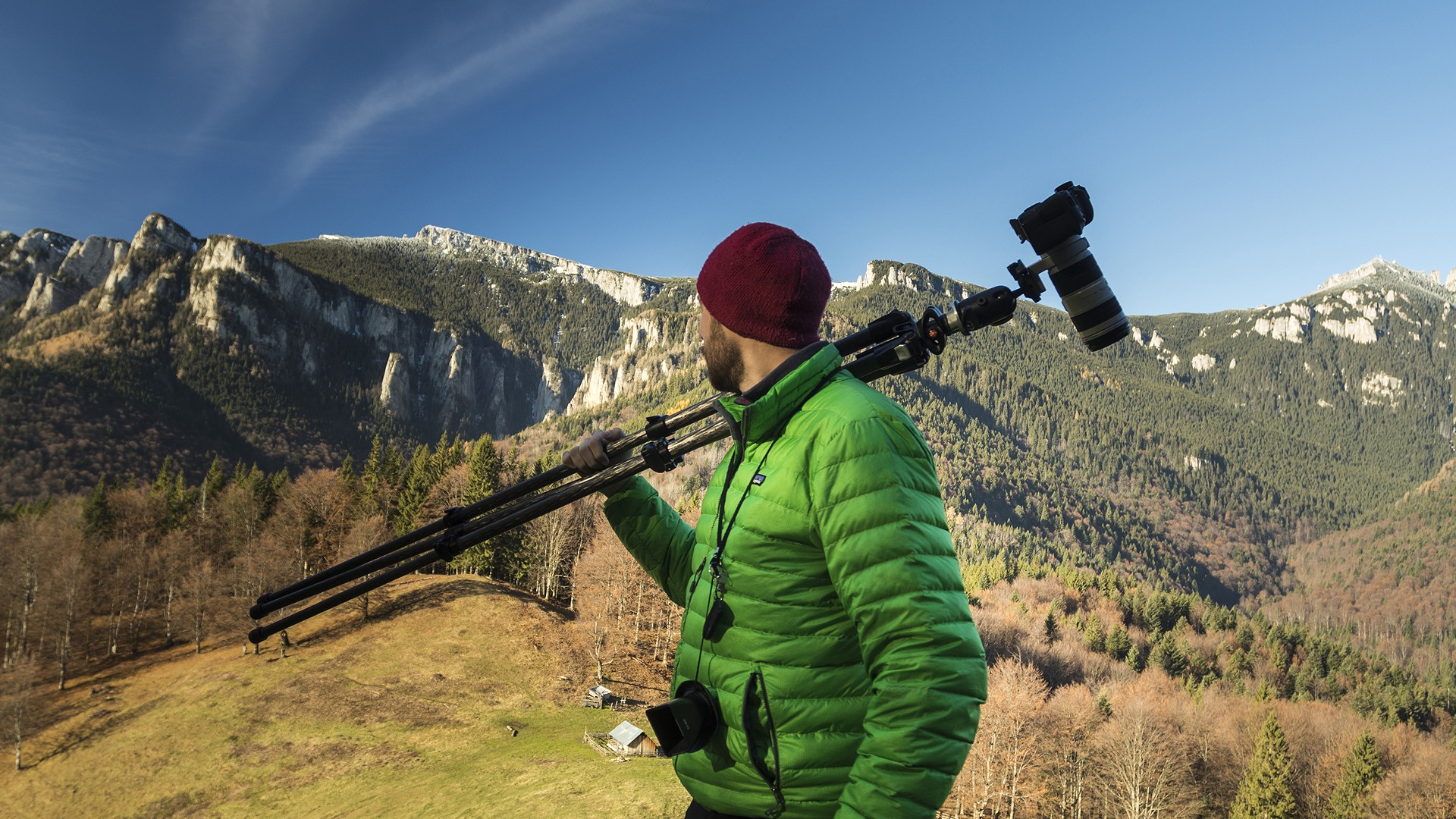 Landscape Photography Vlog | In search of larch trees