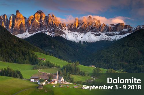 Dolomite Mountains Photo Tour