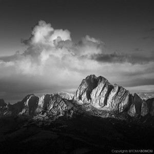 Lights and Shadows in Dolomites