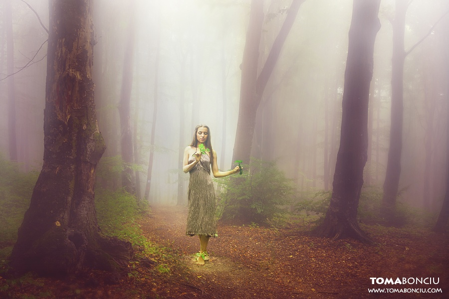 """Fine art Photoshoot for """"Creatures of the Forest"""" – Series I"""