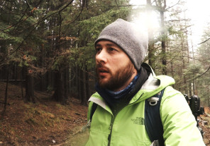 Landscape photography vlog – ND gradual filters, tips, fog and rain into the forest