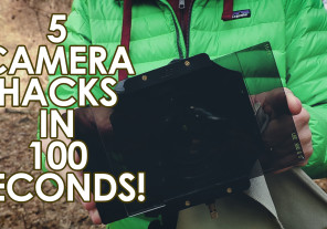 5 Hacks to UP your PHOTOGRAPHY in 100 seconds!